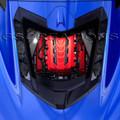 C8 Corvette LT2 Engine Cover (Edge Red)