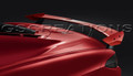 C8 Corvette High Wing Spoiler In Torch Red