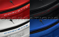 C8 Corvette Script Rear Emblem In Body Colors