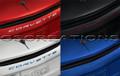 C8 Corvette Script Rear Emblem In Body Colors