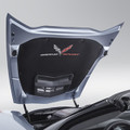 C7 Corvette Grand Sport Hood Liner Upgrade Style With Color Logo
