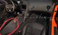 2014-2019 C7 Stingray Z06 Grand Sport ZR1 Corvette Black Suede Armrest w/ Orange Stitching