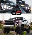 2014-2020 Toyota 4Runner MORIMOTO XB LED HeadLights WHITE DRL
