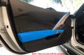 C7 Stingray Z06 Grand Sport ZR1 Corvette Tension Blue Driver Side Door Trim Panel