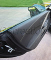 C7 Stingray Z06 Grand Sport ZR1 Corvette Drivers Door Trim Panel Suede w/ Yellow Stitching