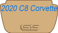 2020+ C8 Corvette Ultimat Lloyd Front Trunk (Frunk) Mat