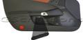 2005-2013 C6 Corvette Drivers Door Access Panel Cover Plug Black