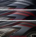 2020 C8 Corvette Stingray Fender Hash Marks (Pick a color options)
