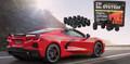 2020+ C8 Corvette Gorilla Automotive Wheel Locks Lug Nuts Lugs  Black or Chrome (For Aftermarket wheels)