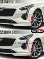 2020+ Cadillac CT4 / CT4-V Clear or Smoked Front Side Markers