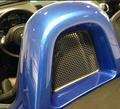 2013-2020 981 - 718 Porsche Boxster Roll Bar Headrest Mesh Deflector Panel Driver's Side (L)