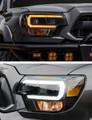2012-2015 Toyota Tacoma Pickup Truck MORIMOTO XB HYBRID WHITE or Amber LED HeadLights