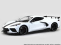 Maisto Special Edition 1:18 Die cast White 2020 C8 Corvette Stingray Coupe
