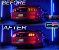 Morimoto Facelift XB Led Tail Lights -  Red or Smoked For The 2010-2012 Ford Mustang