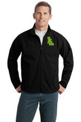 Mens Lynden Applique Textured Softshell Jacket