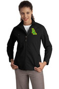Ladies Lynden Applique Textured Softshell Jacket