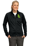 Ladies Lynden Applique Tricot Track Jacket