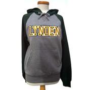 Lynden Applique Hoodie - SportTek Raglan Colorblock