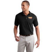 Westside Pizza Cotton Polo with Embroidered Front & Printed Back