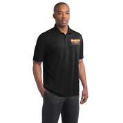 Westside Pizza Micro-Mesh Polo with Embroidered Front & Printed Back