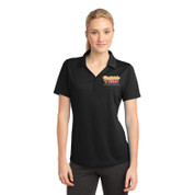 Westside Pizza Ladies Micro-Mesh Polo with Embroidered Front & Printed Back