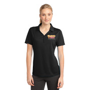 Westside Pizza Ladies Micro-Mesh Polo with Printed Front