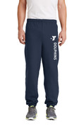 YMCA Dolphins - Elastic Bottom Sweatpants