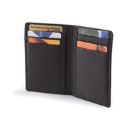 Osgoode Marley Cashmere Leather RFID Blocking 8 Pocket Card Case Wallet