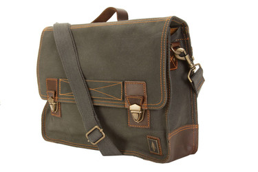 d8c76f40cd68 DamnDog Work Bag Canvas Flapover Messenger 15