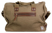 "DamnDog Under Gear Box Canvas 15"" Satchel Carry-On Bag"