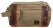 DamnDog Shave Kit Canvas Travel Toiletry Kit