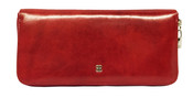 Bosca Old Leather Womens Zip Around Wallet