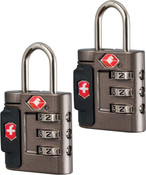 Victorinox Lifestyle Accessories 4.0 TSA Approved 3 Dial Combination 2 Lock Set