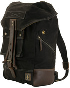 DamnDog Canvas & Leather Rucksack Backpack