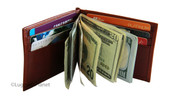 Osgoode Marley RFID Money Clip Mens Leather Wallet