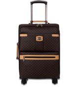 "Rioni Small 21"" Spinner Luggage - Signature Brown"