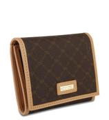 Rioni Womens Tri-Fold Wallet - Signature Brown