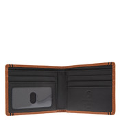 Lodis Classic Mens RFID Billfold Leather Wallet - Chestnut