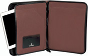 Victorinox Lexicon Professional Reforma Zip Padfolio Notepad w/ Tablet Pocket