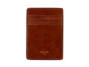 Bosca Dolce Deluxe Front Pocket Mens Credit Card Leather Wallet