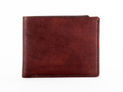 Bosca Old Leather Washed 8 Pocket Deluxe Executive Mens Leather Wallet