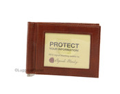 Osgoode Marley Sienna Collection Mens RFID Leather Money Clip Wallet
