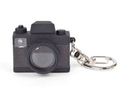 Kikkerland Mini DSLR Camera LED Keychain w/ Shutter Sound