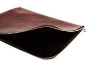 "Bosca Old Leather 16"" Zippered Envelope Portfolio"