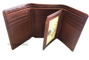 Osgoode Marley  Leather Extra Page ID Trifold Mens Wallet