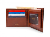 Bosca Old Leather RFID Mens Euro Credit Bifold Wallet W/ I.D. Passcase