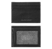 Johnston & Murphy RFID Leather Weekender Card Case - Black