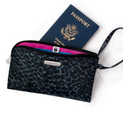 Baggallini Wristlet Phone / Travel Wallet w/ RFID Blocking