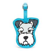 Marc Tetro Dog Tarvel Luggage Tag Schnauzer, Boston Terrier, Westie