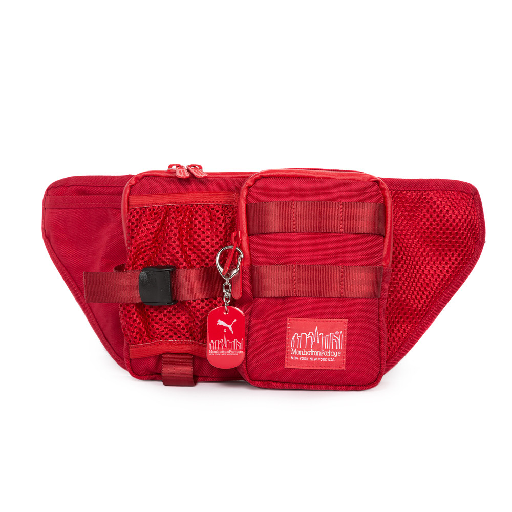 6d0455787214 Manhattan Portage PUMA Echelon Waist Bag - Red - LuggagePlanet.com